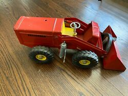 1950's Nylint Toys Hough Payloader - Rubber Tire Front End Loader Antique Toy