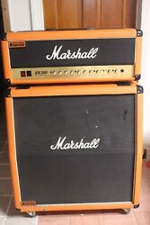Marshall Jcm 2000 Dsl 100 Orange Crunch Head And Cabinet Limited Edition 1998