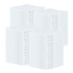 Bulk Lot Of 100 White Shop Towels 12 X 14 Cleaning Rags Homes Cars Reusable
