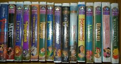 (1) DISNEY VHS LOT - MASTERPIECE CLASSICS GOLD COLLECTION -SEALED- (MILNXL)