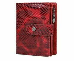 Hasp Tri-fold Zipper Coin Purse Leather Solid Hasp Closure Organizer Wallets New