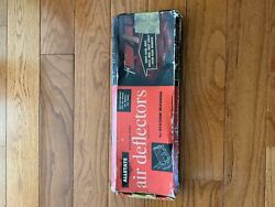 Nos Stainless Vintage Nomad Brookwood Wagon Air Deflectors