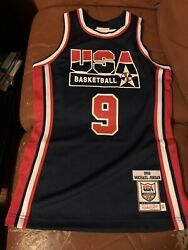 Mitchell And Ness Michael Jordan Dream Team Authentic Jersey Size Small S 36 Air