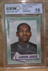 Lebron James Rc 2002 Rookie Review Rookie Card6 Graded Gem10cavaliers G Rc-v4