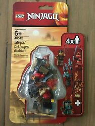 LEGO Ninjago 40342 Minifigure Pack Exclusive Minifigs Clutch Powers New $23.99
