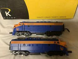 ✅k-line By Lionel Tmcc Cnj Jersey Central Lines F-3 Diesel Engine Set O Scale