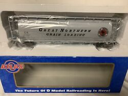 ✅atlas O Great Northern 6-bay Cylindrical Covered Hopper Car 6334-1 O Scale