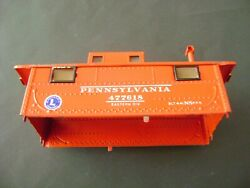 Lionel 477618 Red Metal Original Electronic Caboose Shell W/reproduction Decals
