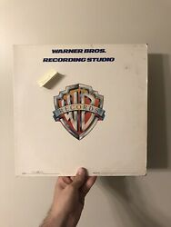 Master Copy By Jerry Goldsmith Of Swarm The Movie Vinyl Record One Sided Rpm33
