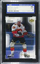 2000-01 Upper Deck Pros And Prospects /1000 Jeff Cowan 96 Sgc 9 Rookie
