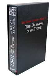 New Stephen King Dark Tower 2 Drawing Three First Edition Printing Slipcased
