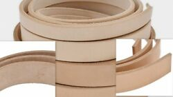 VegTan Tooling Cow Leather Belt BlanksStripsTHICKNESS 3 4 5 6 8 9 9 10 11 12OZ $7.99