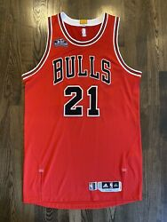 Adidas Jimmy Butler 21 Bulls Issued 2015 Taco Bell Skills Challenge Jersey 2xl
