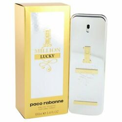 1 Million Lucky Cologne By Paco Rabanne, 3.4 Oz Edt Spray For Women's - 541535