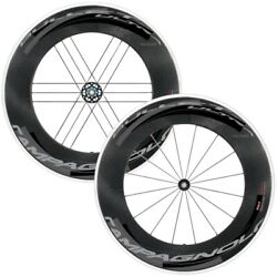 New Campagnolo Bullet Ultra 105 Road/clincher Wheelset/cult Bearings Dark Labels