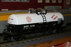 Mth O Scale Single Dome Tank Car Shpx14142 New No Box Pittsburch Andwest Vircinia
