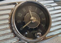 Perohaus Dash Clock With Extended Ring And Grill 53-57 Og Nos Vw Oval Bug Rare