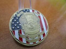 Police Honor Our Fallen Officers St Michael The Archangel Challenge Coin 2967.