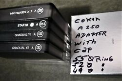 Cokin France Set Filters In Cases. 4 Se Filters, 3 Rings, Adapter, Cap. Lot