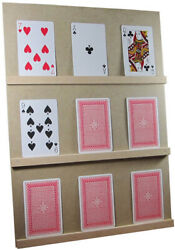 Play Your Cards Right/higher Lower Game With Stand Uk Made
