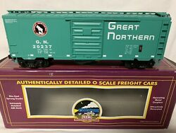 ✅mth Premier Great Northern 40' Ps-1 Box Car 20-93014 For O Scale Train Set
