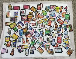 Wow Wacky Packages Stickers. Over 100 Stickers. 2010 And Up. Several Rare.