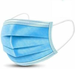 10000 Pcs Face Mask Medical Surgical Disposable 3-ply Earloop Mouth Covers