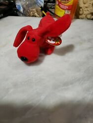 Rare Retired Ty Beanie Baby Rover Style 4104 - Pvc Pellets And Collectible