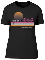 Sunrise Surf In California Tee Women's -Image by Shutterstock