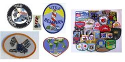 Lot of 4 Identical Award Patches SELECT YOUR DESIGN! $9.50