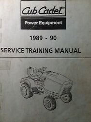 Cub Cadet Ccc Mtd 1989-1990 Garden Tractor And Rer Service Repair Training Manual