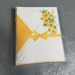 Vintage Whiting's Stationary Set Nib Floral Letter Writing
