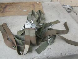Us Army Usmc Paratrooper Webbing Harness Strap Rock Climbing Helicopter Vietnam