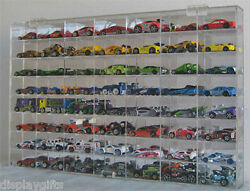 56 Hot Wheels 164 Scale Diecast Display Case, Uv Protection Acrylic, Ahw64-56