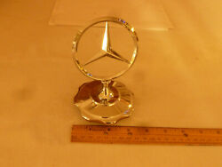 Mercedes 1950and039s Early Grille Star Screw On /radiator Type Cap