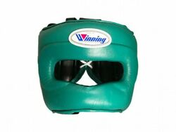 Winning Boxing Head Gear Fg-5000 Training Special Color Green Made In Japan