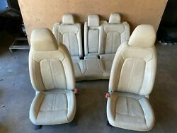 Lincoln Mkz 2013-2019 Oem Set Front Rear Interior Leather Power Chair Seats Seat