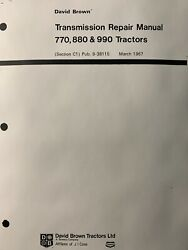 David Brown Case 770 880 990 Tractor 6 And 12 Speed Transmission Service Manual