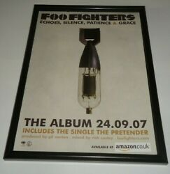 Foo Fighters Echoes Silence Patience And Grace-framed Original Advert