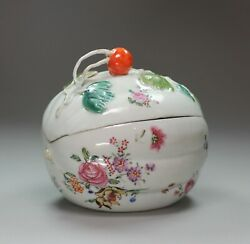Chinese Famille Rose Melon Tureen And Cover Qianlong 1736-95