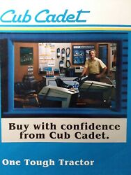 Cub Cadet Ccc Mtd Lawn Garden Tractor Accessories And Supplies Sales Brochure