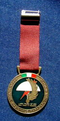 1989 Italy Rare Medal Paratroopers Military Skydiving Parachute Association