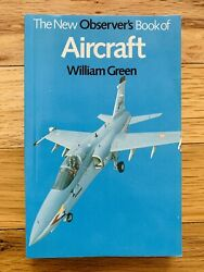 1985 The New Observer's Book Of AIRCRAFT by William Green Small Paperback $9.95