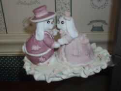 1994-patchville Bunnies -love Lasts Forever -very Good Condition- No Box