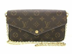 Auth LOUIS VUITTON Felicie M61276 Monogram SP3176 Other Style Wallet