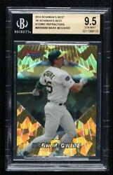 2016 Bowmanand039s Best 1996 Atomic Refractor Mark Mcgwire 96bb-mm Bgs 9.5