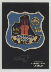 1994 Sannco Police Patch Cards Series 2 Waterbury Connecticut 19 0b5