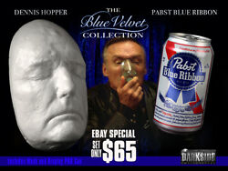 Blue Velvet Collection Dennis Hopper Life-size Life Cast And Pbr Can Resin
