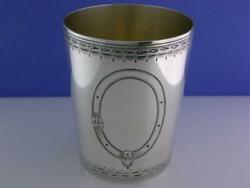 George Iii Silver Beaker / Julep Cup Peter And Ann Bateman London C1791
