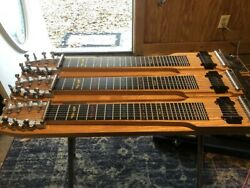 Remington Steelmaster T8 Barely Used Excellent Condition 3 Neck Steel Guitar